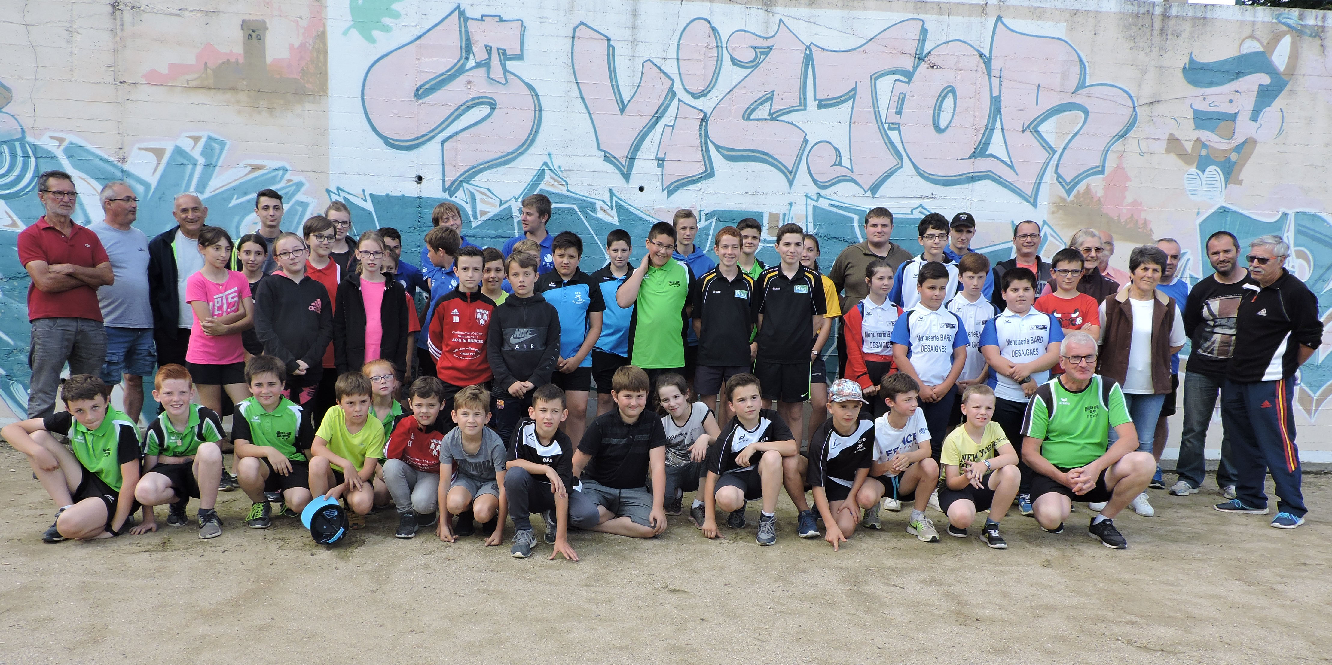 Concours de jeunes à Saint Victor