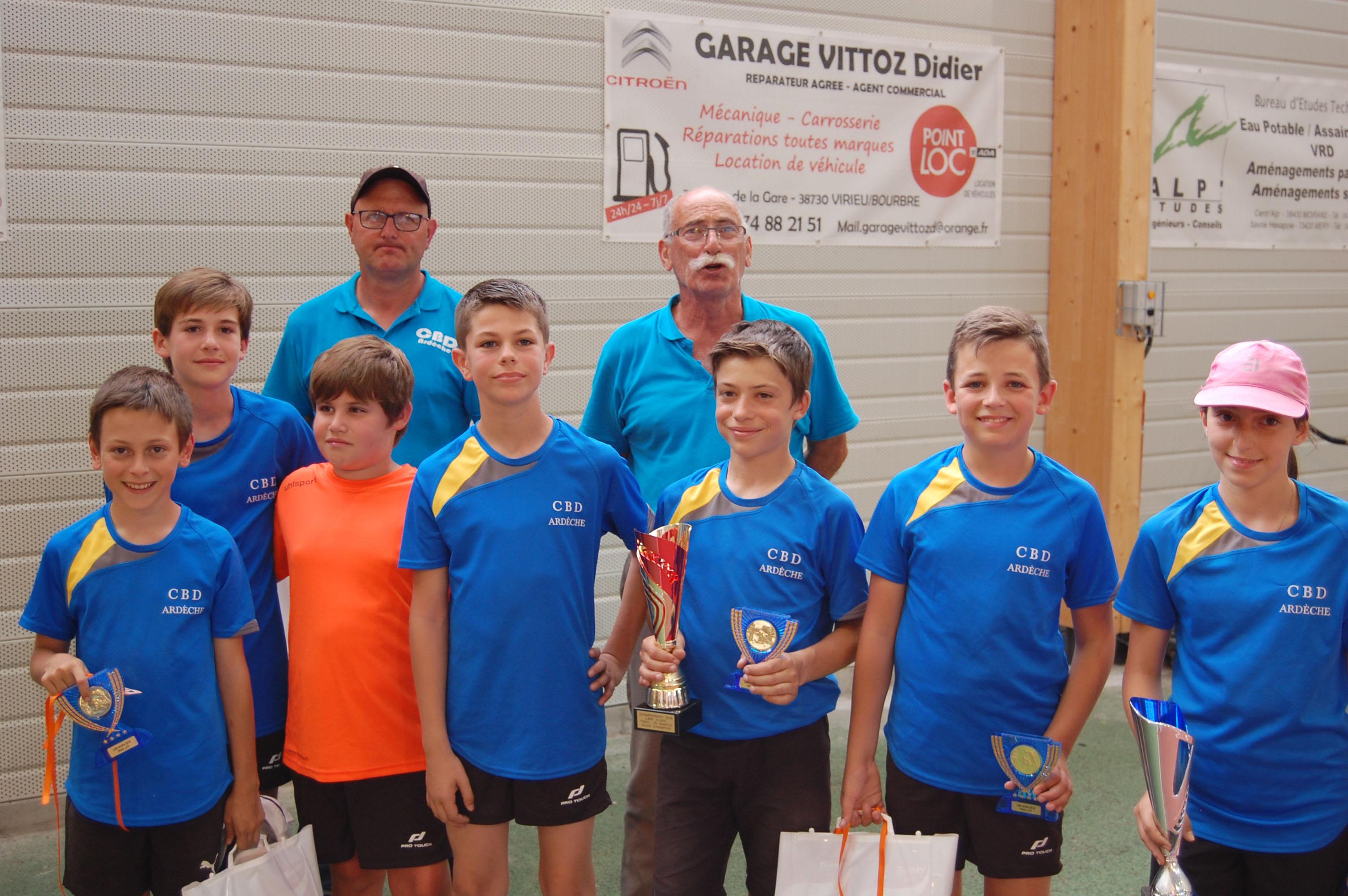 Championnat régional Trad U13