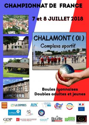 Tirages et programme du Championnat de France en double