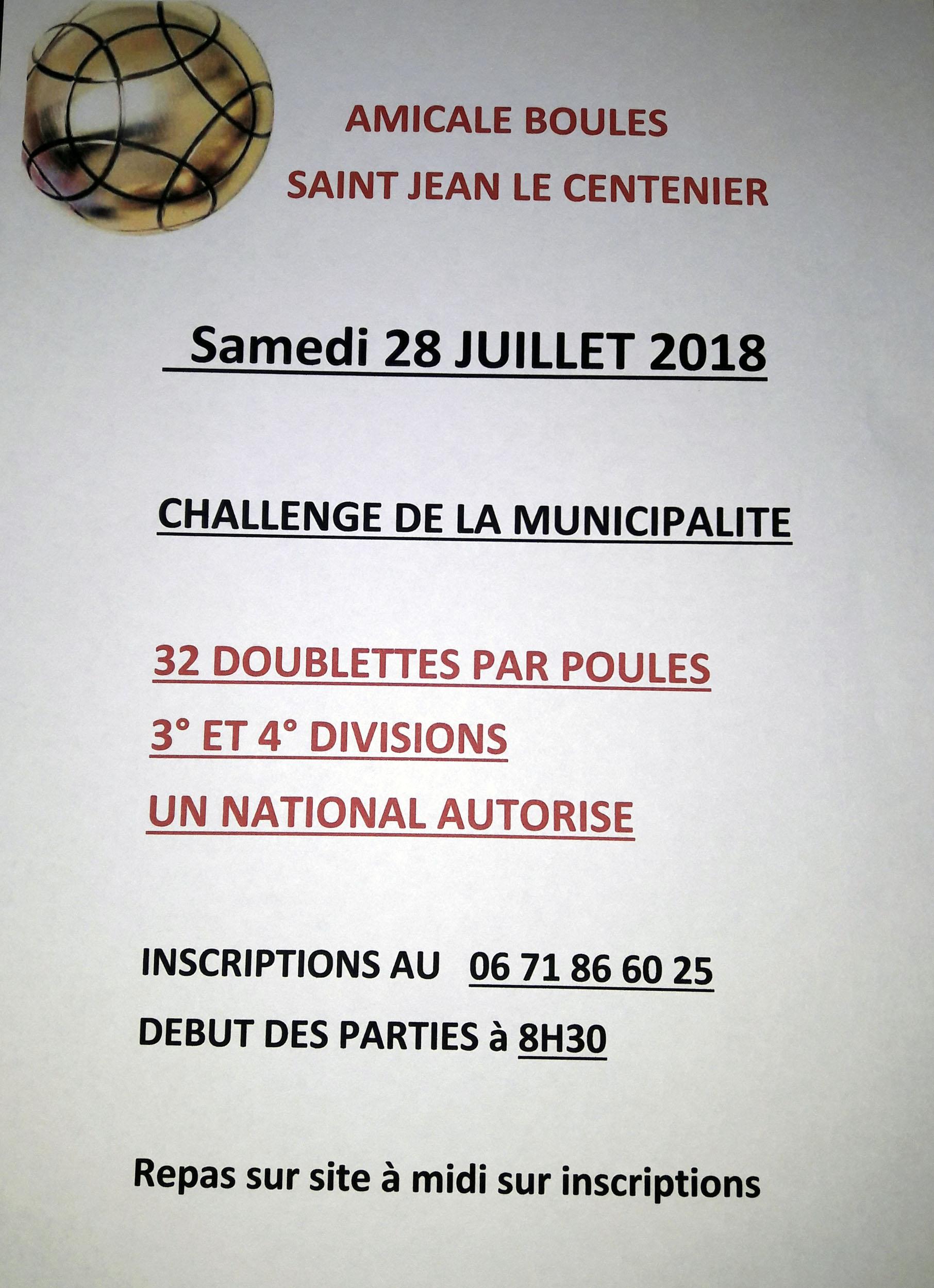 Inscrivez-vous à Saint Jean le Centenier