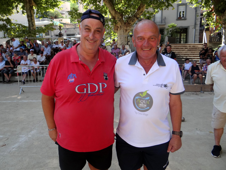 Deux capitaines saints germinois en finale du grand prix de Vals les Bains