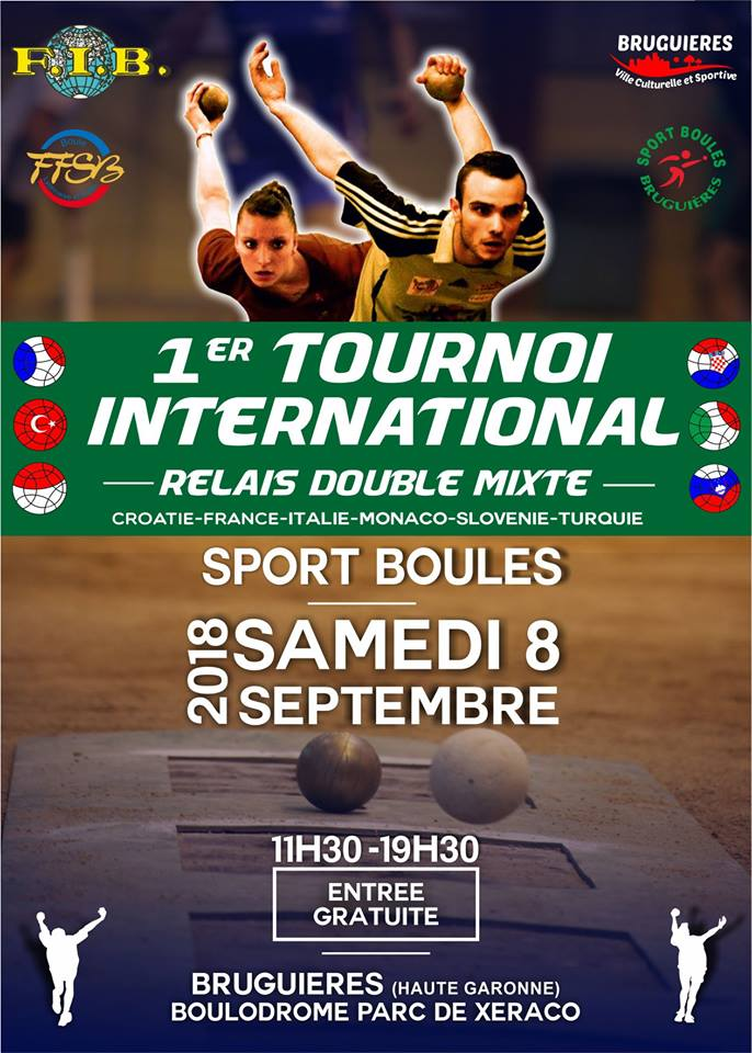 Tournoi International de tir en relais double mixte à Bruguières
