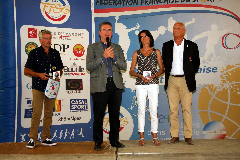 Réception de clôture du Trophée de France