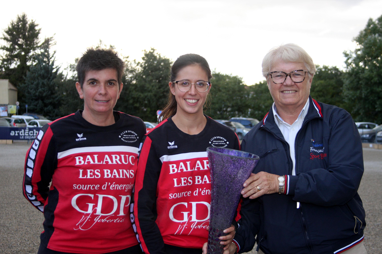 Balaruc vainqueur du Super 16 F1 des Trois clochers