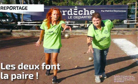 Sport Boules Magazine salue les bénévoles des Trois clochers