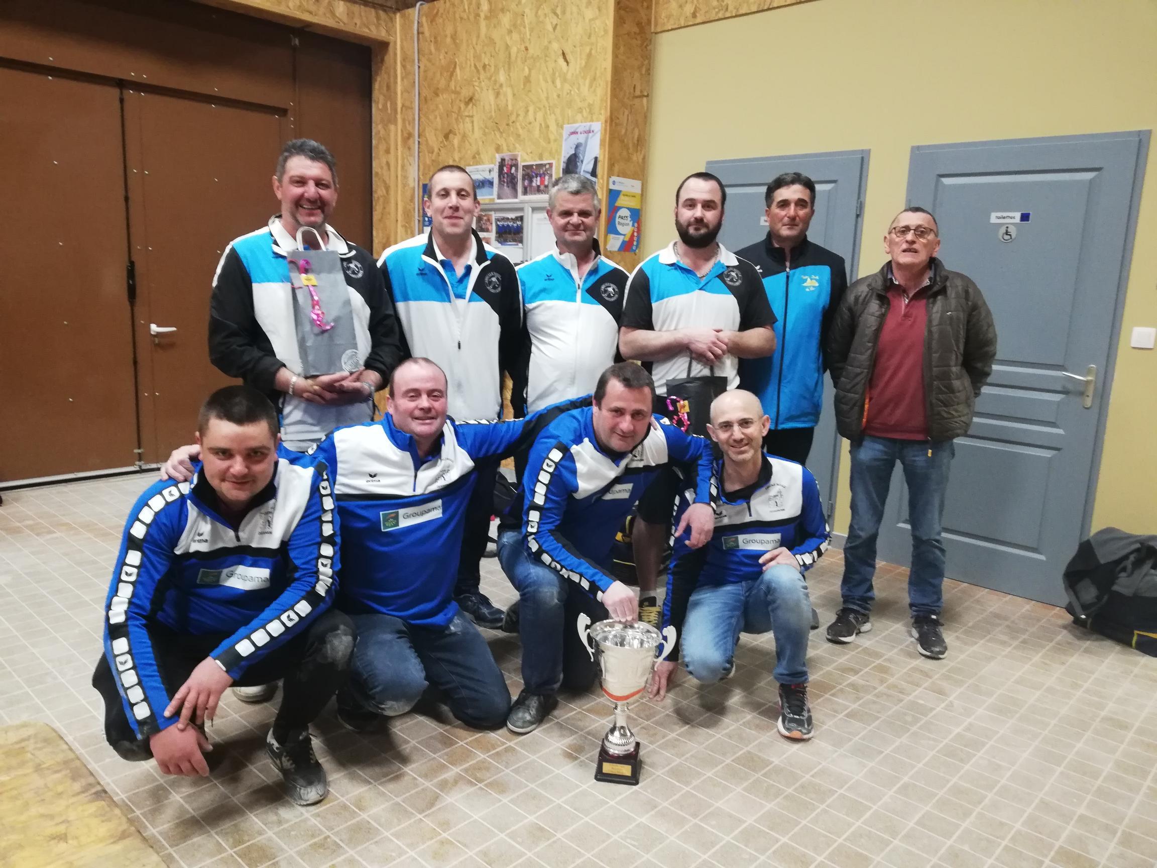 Désaignes remporte le 6eme Challenge « Brasserie Chez Mag » face Saint-Agrève