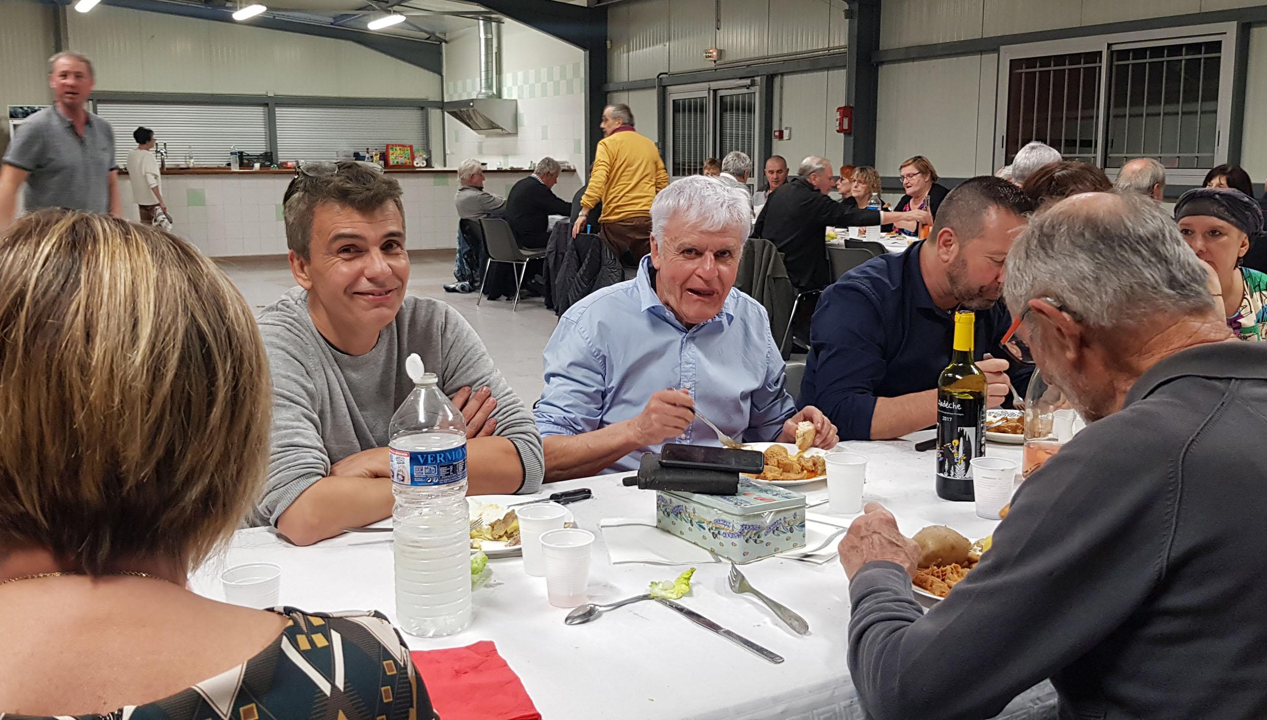 79 personnes au repas de l'ABMV