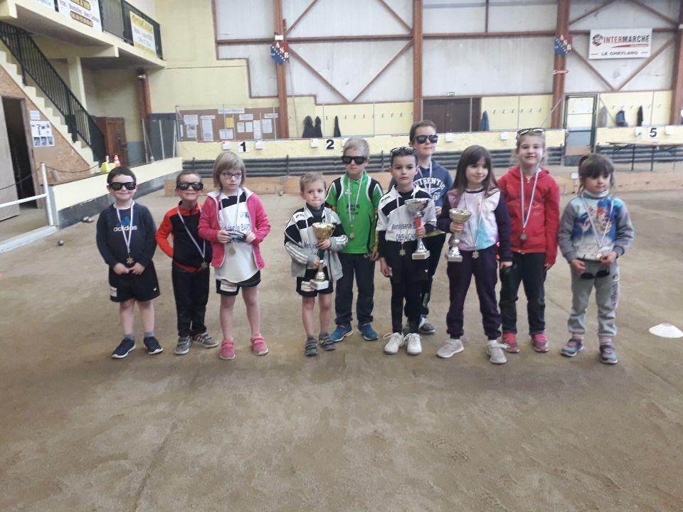 Une belle journée de compétition pour les jeunes au Cheylard