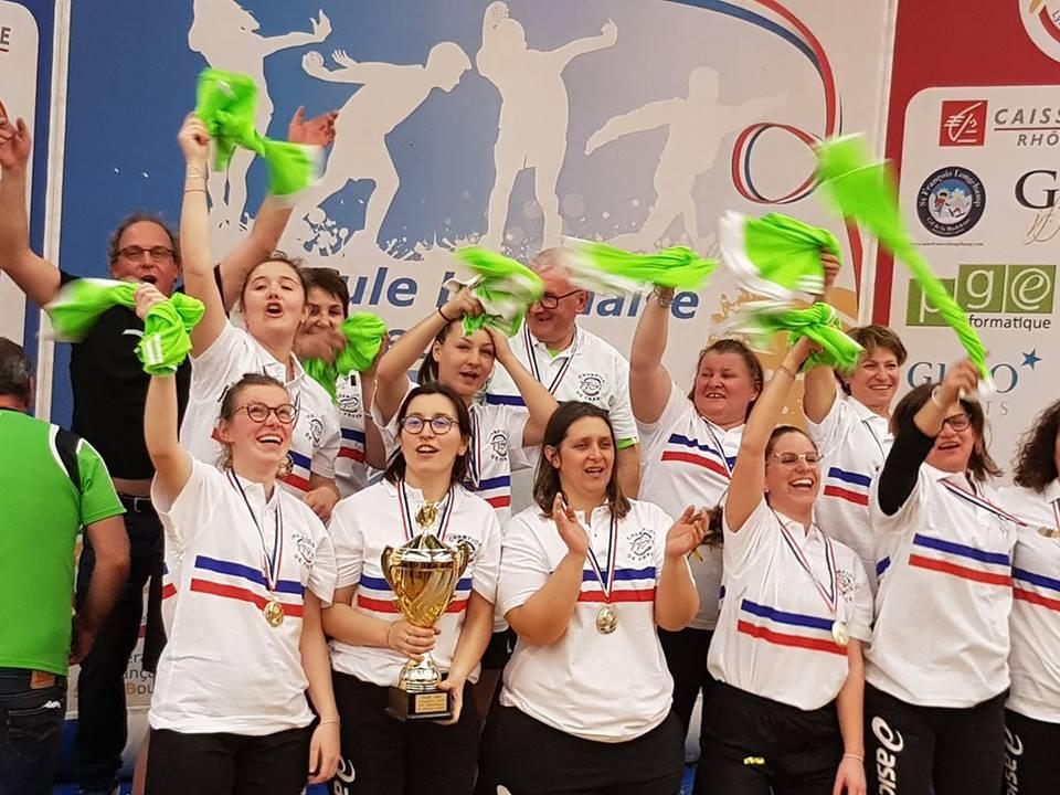 Premier titre de la saison pour l'Ardèche grâce aux Saint Victoriennes