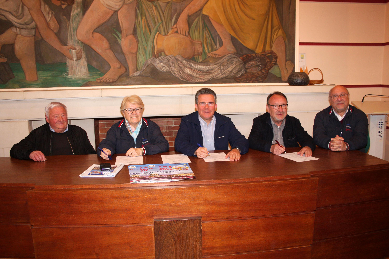 Signature de la convention pour le Trophée de France