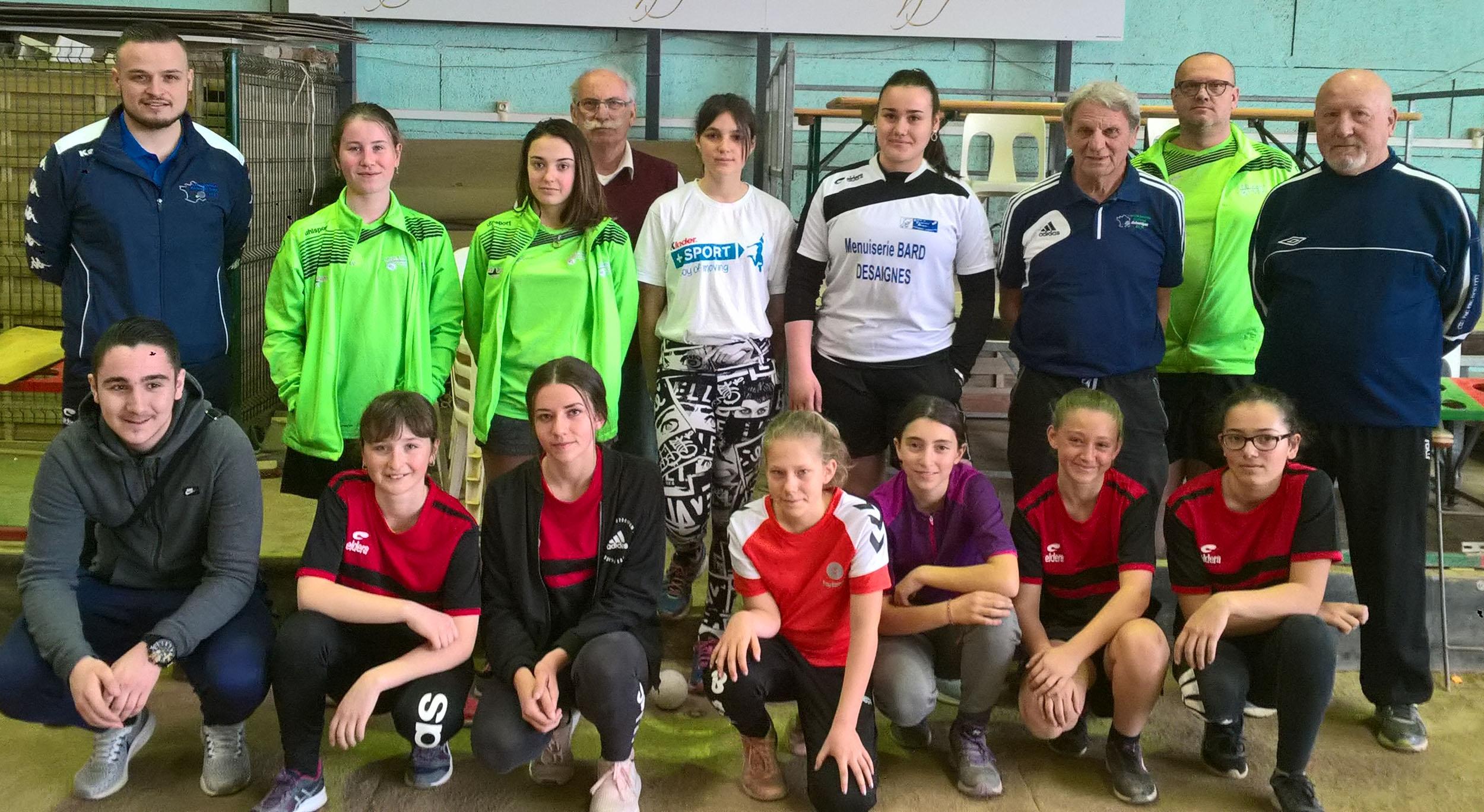 Stage régional à Annonay pour les jeunes filles