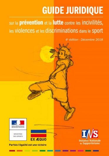 Guide juridique violence, incivilités et discriminations dans le sport