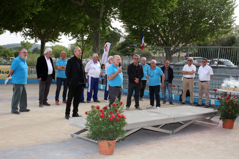 A Bourg Saint Andéol, Pierre Courbier quitte la présidence sur un nouveau succès