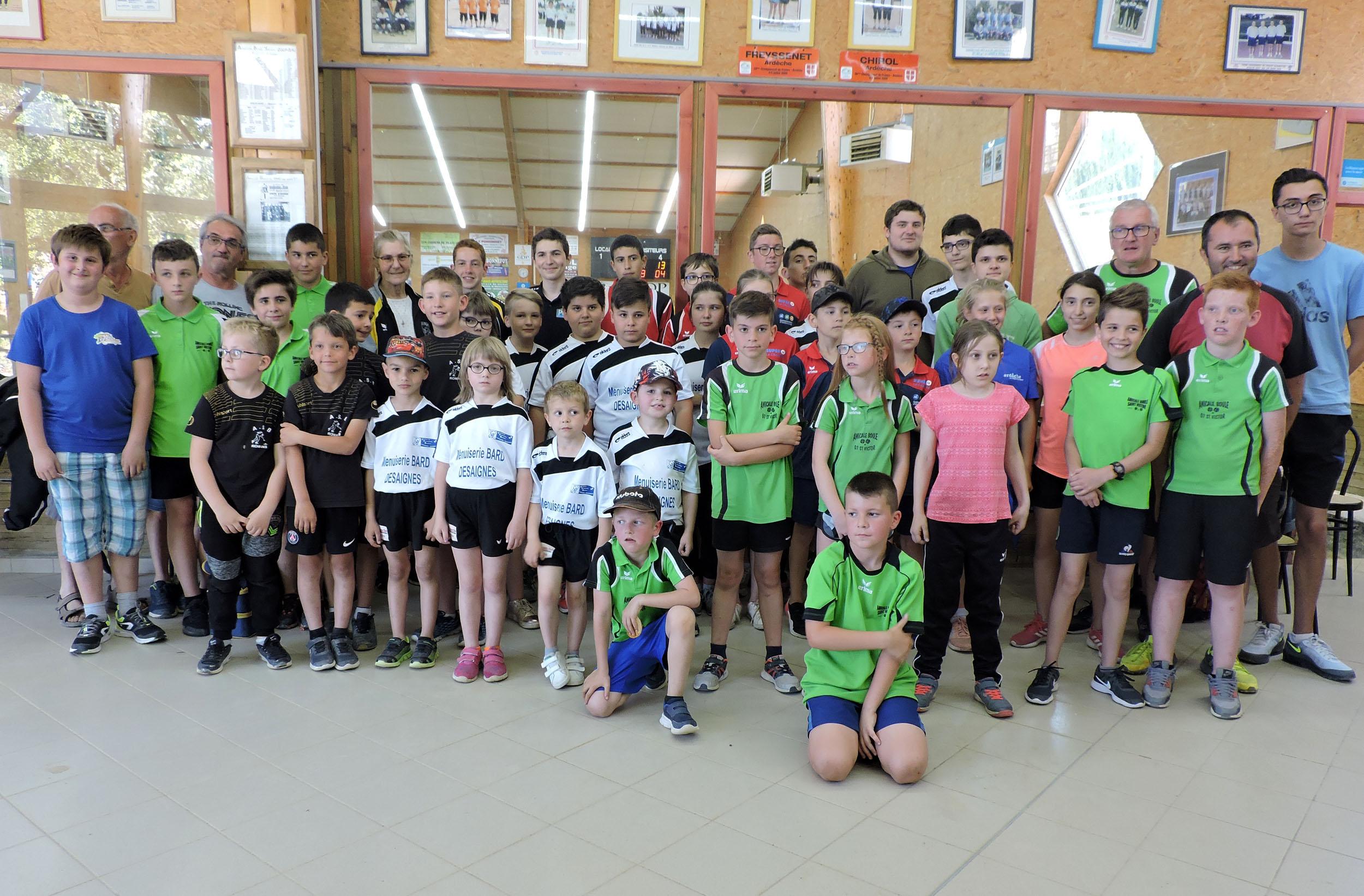 Concours jeunes à Saint Victor