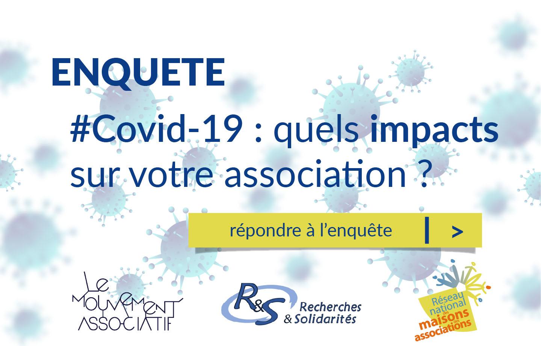 Enquête : COVID-19, quels impacts sur votre association ?